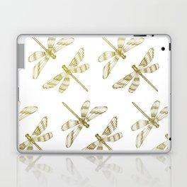 Golden Dragonflies Laptop & iPad Skin