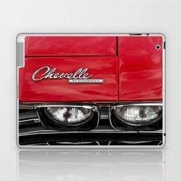 1969 Red Chevrolet Chevelle Car Laptop & iPad Skin