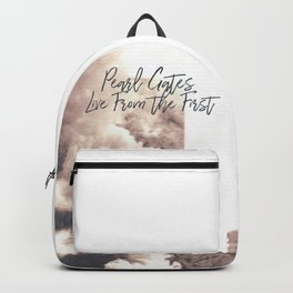 Live From The First Album Cover Backpack