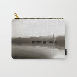 Gulets In Greyscale Carry-All Pouch