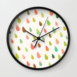 OPAL DROPS Wall Clock
