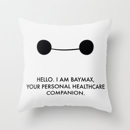 Personal Healthcare Companion Throw Pillow