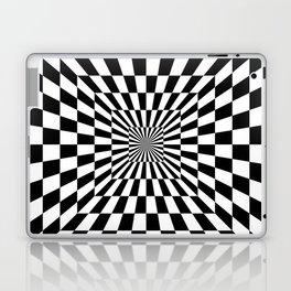Optical Illusion Hallway Laptop & iPad Skin