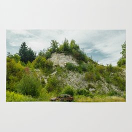 An old quarry in Kazimierz Dolny Rug