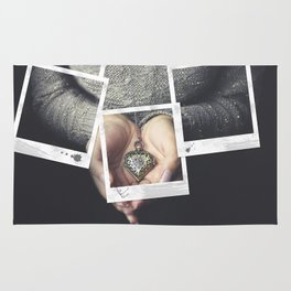 Polaroids Rug