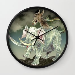 Party Animal Wall Clock