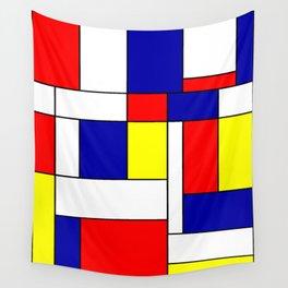 Mondrian #38 Wall Tapestry
