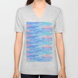 Watercolor delight Unisex V-Neck