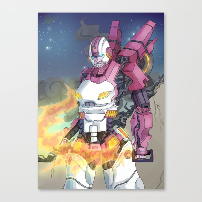 Transformers: Robots in Disguise ARCEE IDW Canvas Print by  thelemonadestandoflife