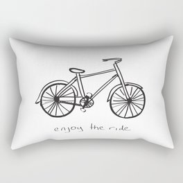 Bike - Enjoy The Ride Rectangular Pillow