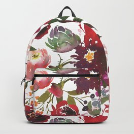 Boho Rojo Backpack