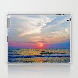 Naples Florida sunset on the Gulf of Mexico Laptop & iPad Skin