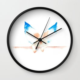 Unlikely Guardian Wall Clock