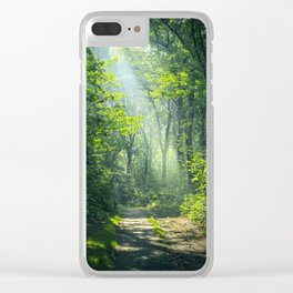 Woodland Glory Clear iPhone Case