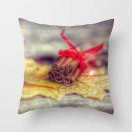 last good buy to this autumn Throw Pillow