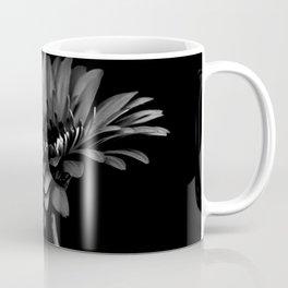 Daisy gerbera. Black and white Coffee Mug