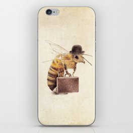 Worker Bee iPhone Skin