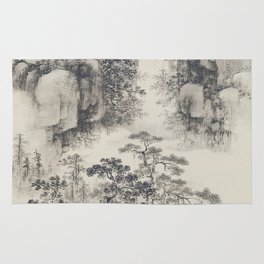 Landscape with Waterfall Rug