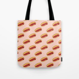 Hot Dog Dachshund Tote Bag