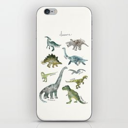 Dinosaurs iPhone Skin