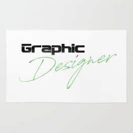 Graphic Designer Rug