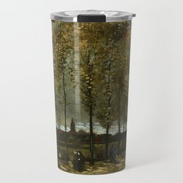 Van Gogh -Lane with Poplars near Nuenen Travel Mug