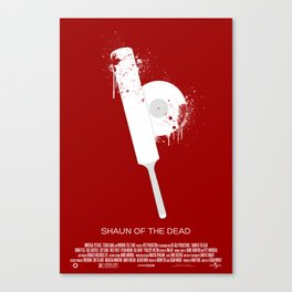 "3 Flavors Trilogy #1 - ""Shaun of the Dead"" Canvas Print"