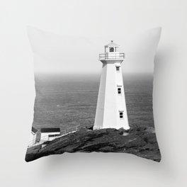 Cape Spear Lighthouse No.2 Throw Pillow