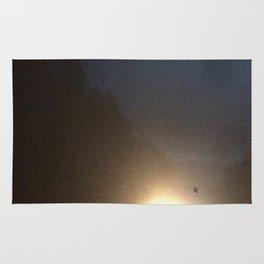 Abstracte Light Art in the Dark 4 Rug