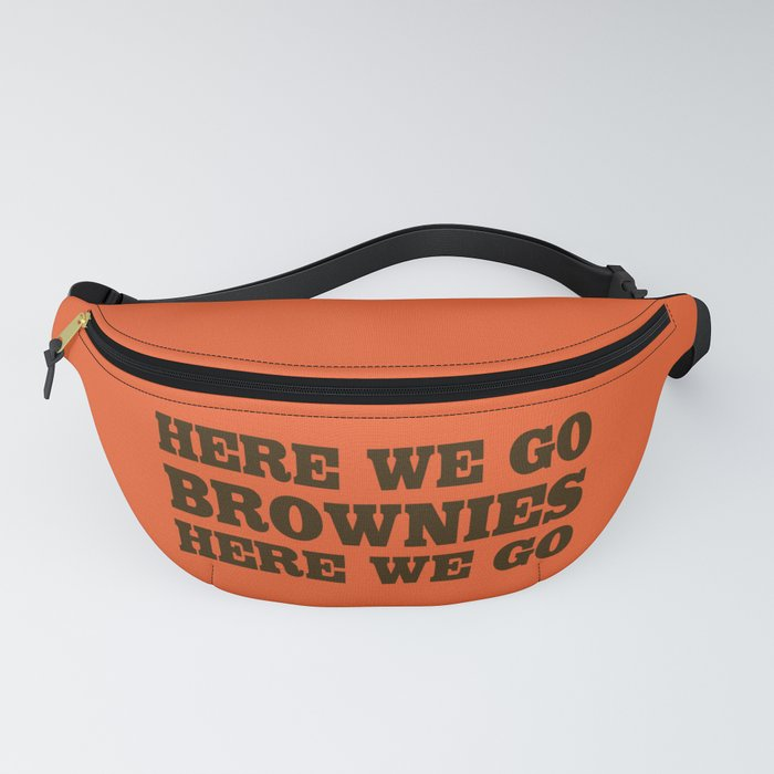 Here We Go Brownies Here We go Fanny Pack