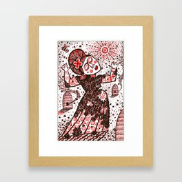 QUEEN OF THE BEES Framed Art Print