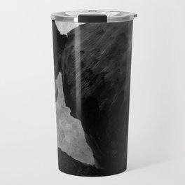 Psycho shower curtain Travel Mug