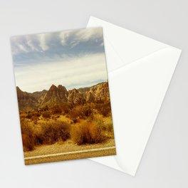 Desert Red Stationery Cards