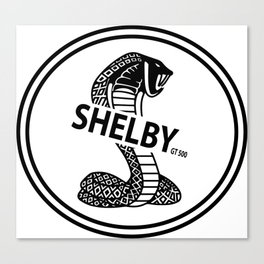 shelby GT500 design Canvas Print