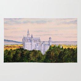 Neuschwanstein Castle Bavaria Germany Rug
