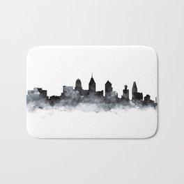 Philadelphia Skyline Bath Mat