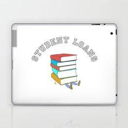 Student Loans Back to School College T-Shirt broke student Laptop & iPad Skin