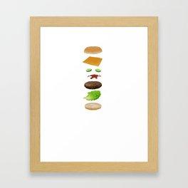 Ode to Bob's Burgers Framed Art Print