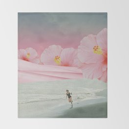 Running Dream Throw Blanket