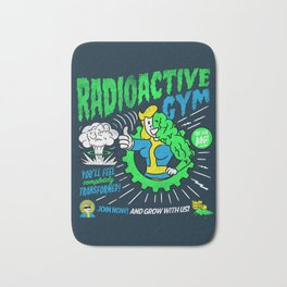Radioactive Gym Bath Mat