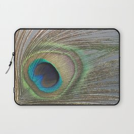 Peacock Feather No.1 | Feathers | Nadia Bonello | Ottawa | Canada Laptop Sleeve