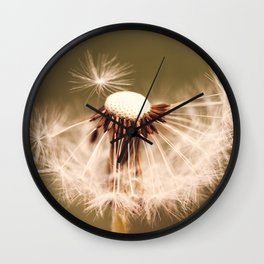 Dandelion Wine Wall Clock