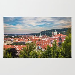 Prague from Petrin Hill Rug