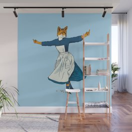 Look At All The Fox I Give - II Wall Mural