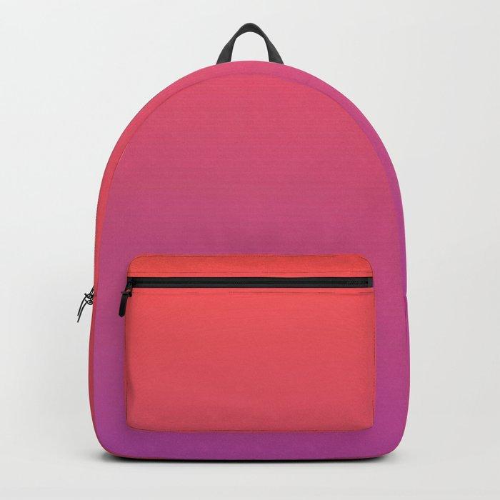 SPECIAL MOMENT - Minimal Plain Soft Mood Color Blend Prints Backpack
