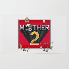 Alternative Mother 2 / Earthbound Title Screen Rug