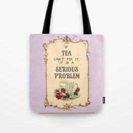 Fixing Tea Tote Bag