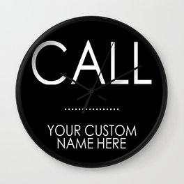 Custom Order - CALL ..... Wall Clock