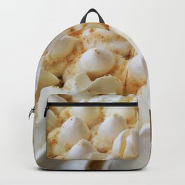 whipped cream mountain range Backpack