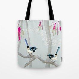 Blue Wren Australian Birds Tote Bag